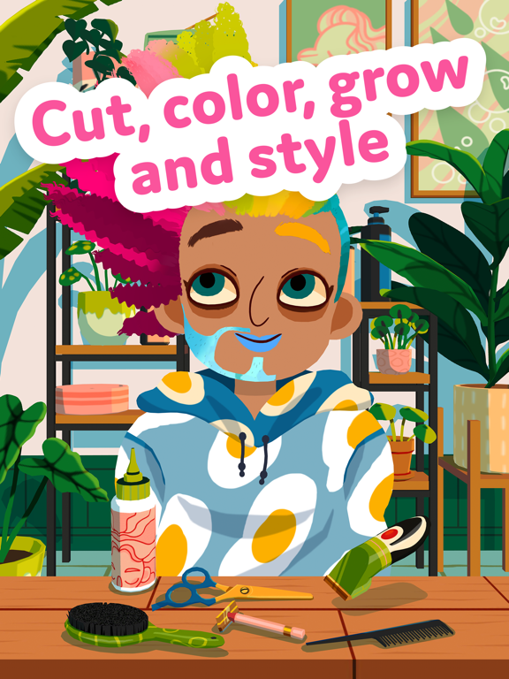 Toca Hair Salon 4 screenshot 7