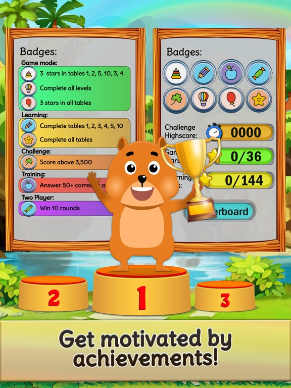 Times Tables Quiz! Kids maths Screenshots