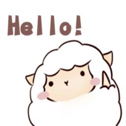可愛的羊咩