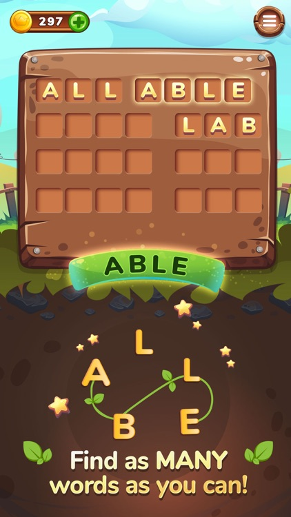 Word Farm - Anagram Word Game screenshot-0
