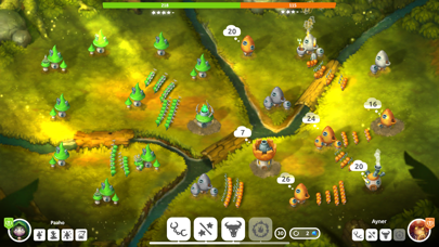 Screenshot from Mushroom Wars 2: TD & RTS Game