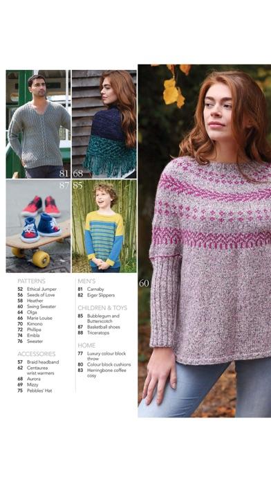 Screenshot for Knitting Magazine in United States App Store