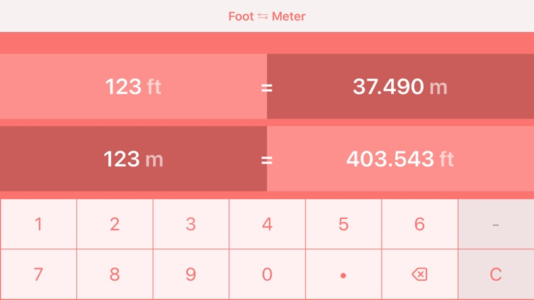 Feet to Meters   ft to m screenshot-5
