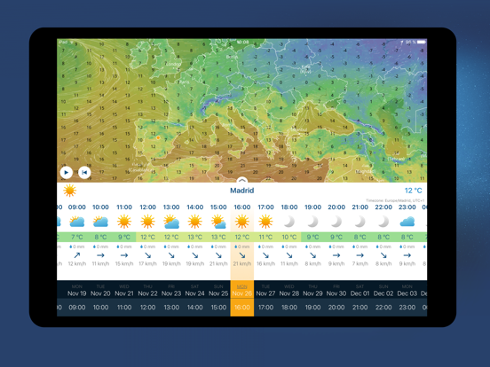 Ventusky: Weather Maps Screenshots
