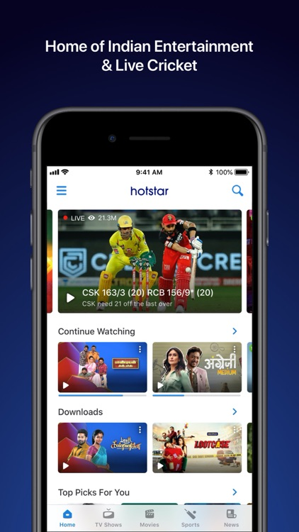 Hotstar | Cricket, Movies & TV