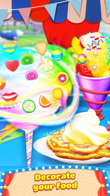Carnival Fair Food Maker Games