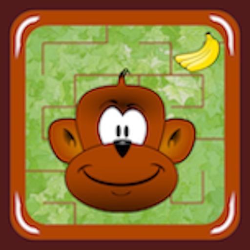 Monkey Jungle Maze