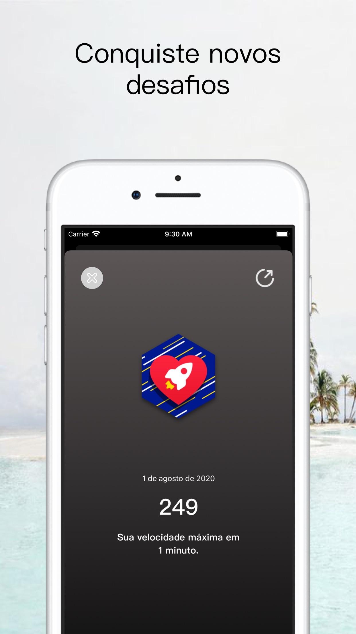 Screenshot do app YaoYao - Corda de Salto