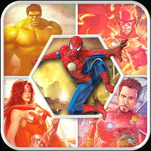 Guess Comics SuperHero Quiz