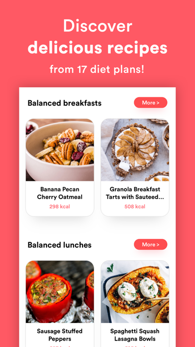 Meals - Weekly Meal Planner Screenshot