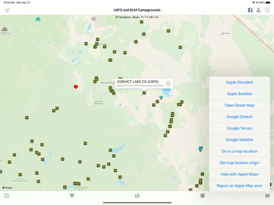 Screenshot #4 pour USFS & BLM Campgrounds