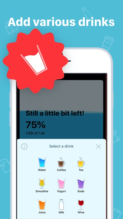 My Water: Daily Drink Tracker screenshot-3