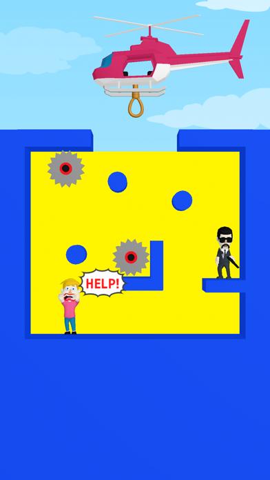 脳トレパズルゲーム - Help copter!紹介画像1