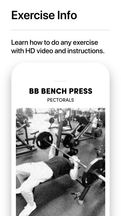 IRON Weight Lifting Tracker screenshot-8