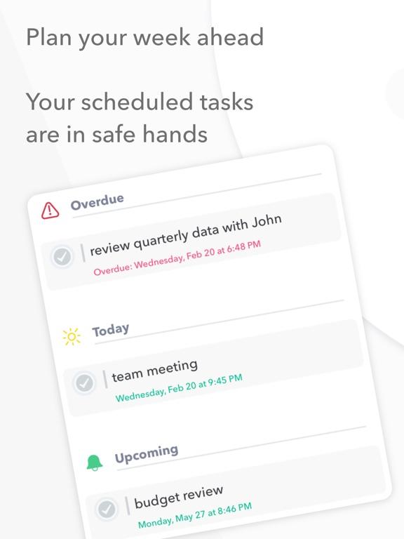 Nural - tasks, notes & chat Screenshots