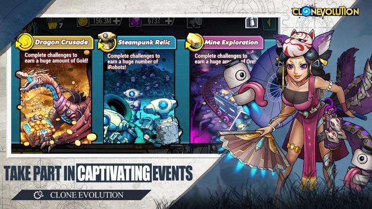 Clone Evolution: Cyber War screenshot-0