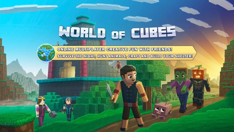 World of Cubes Survival Craft screenshot-7
