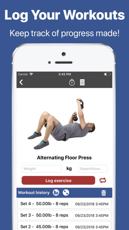 Gymster+ Gym Workout Tracker screenshot-3