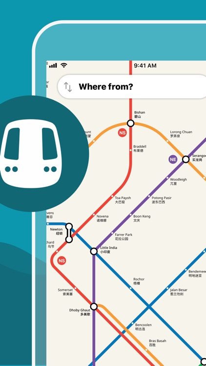 Singapore Metro Map & Planner screenshot-0