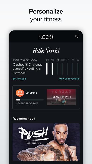 NEOU: Fitness & Exercise Appのおすすめ画像2
