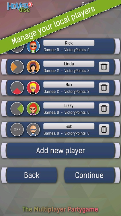 Hover Disc 3 - The Party Game screenshot-4