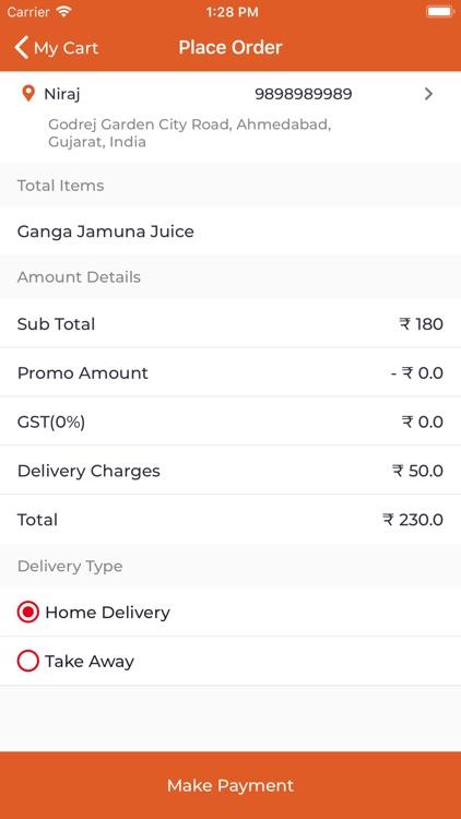 Zesty Treat Food Delivery screenshot-5