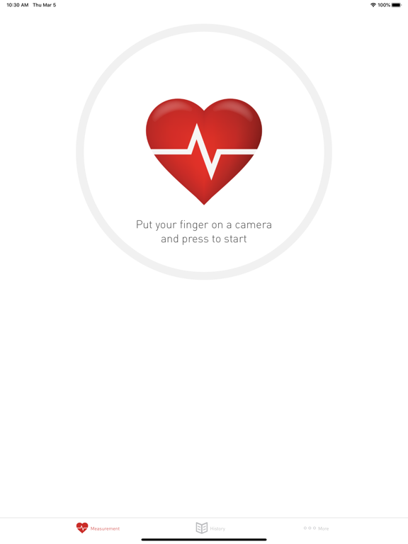 Cardiograph Heart Rate Monitor screenshot