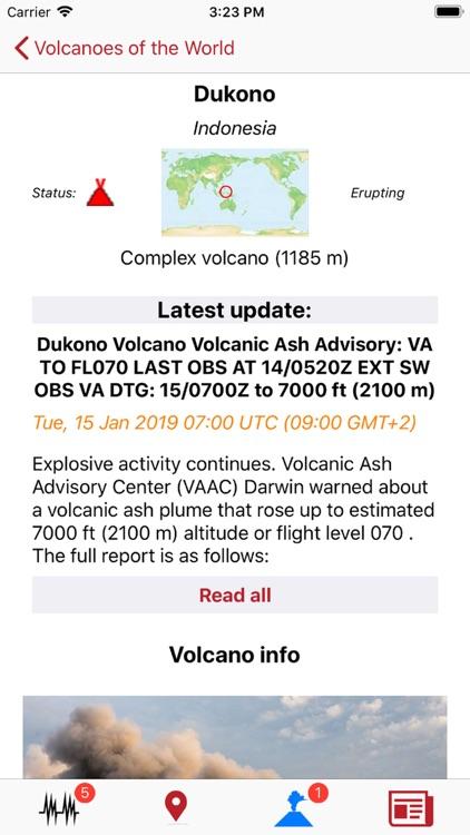 Volcanoes & Earthquakes screenshot-7