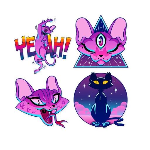 DemonCatMoji - Stickers Pack