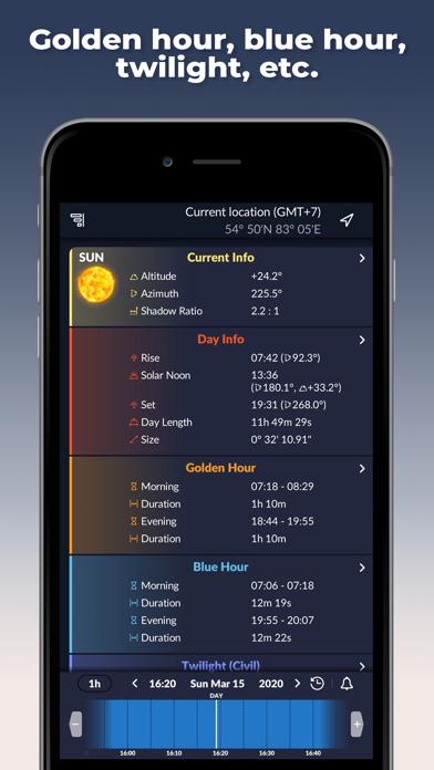 Ephemeris: Sun & Moon Calendar screenshot 5