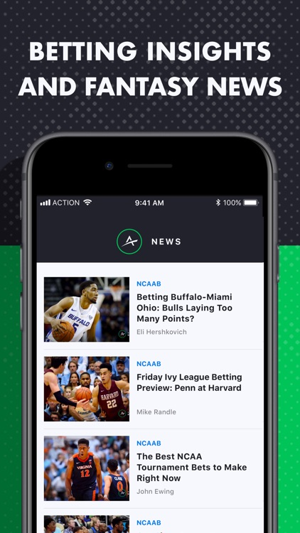 The Action Network: Sports App screenshot-5