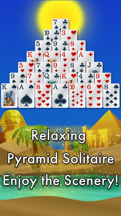 Pyramid Solitaire - Egypt screenshot-0