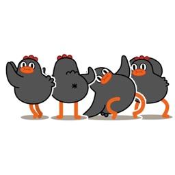 Dancing Chickmoji