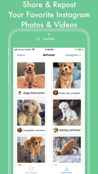 Repost for Instagram - Plus for Windows