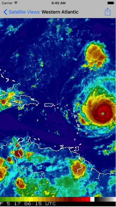 Screenshot #2 pour global storms pro