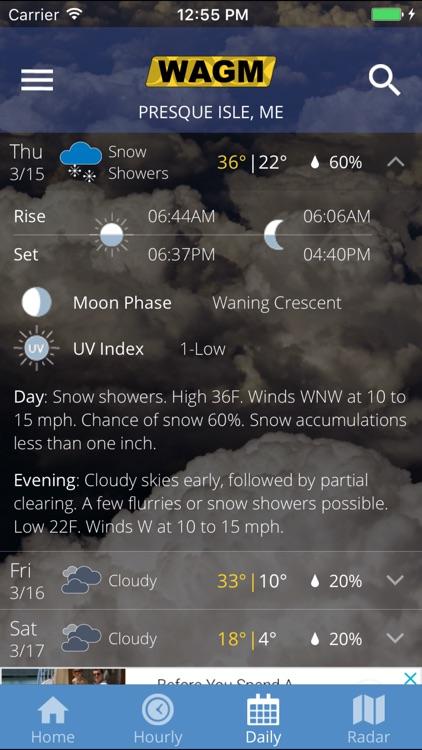 WAGM: Your Local Weather screenshot-4