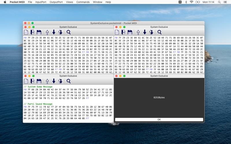 Pocket MIDI Screenshot