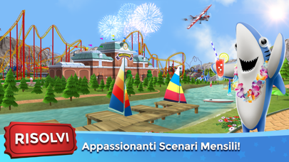 Screenshot of RollerCoaster Tycoon® Touch™4
