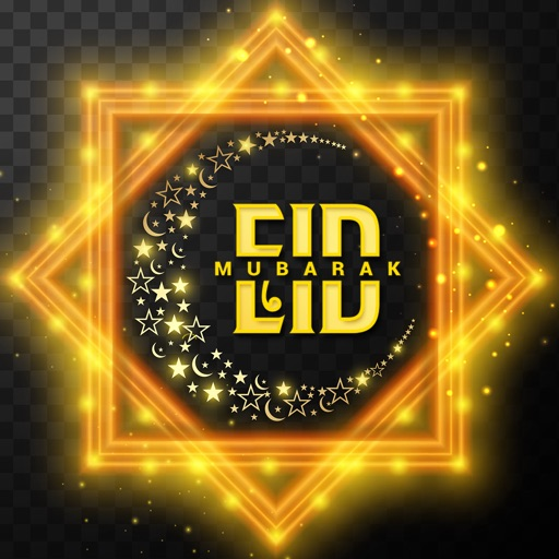 Eid Mubarak Stickers and Emoji