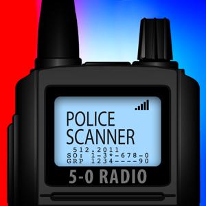 5-0 Radio Pro Police Scanner app