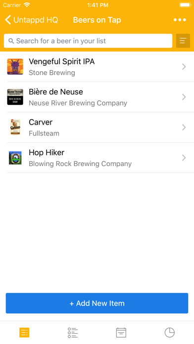 Untappd for Business Screenshot