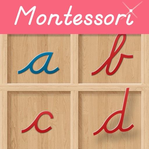 Movable Alphabet - Cursive