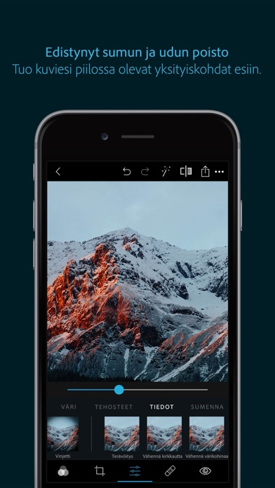 Screenshot for Adobe Photoshop Express in Finland App Store