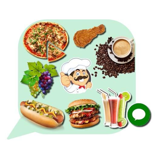 Food Emoji Stickers