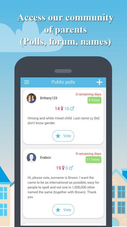 Baby Name Together PRO screenshot-5