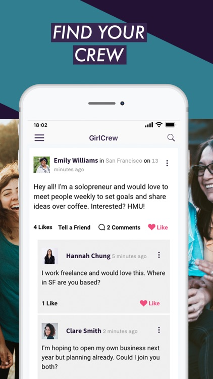 GirlCrew - Meet New People