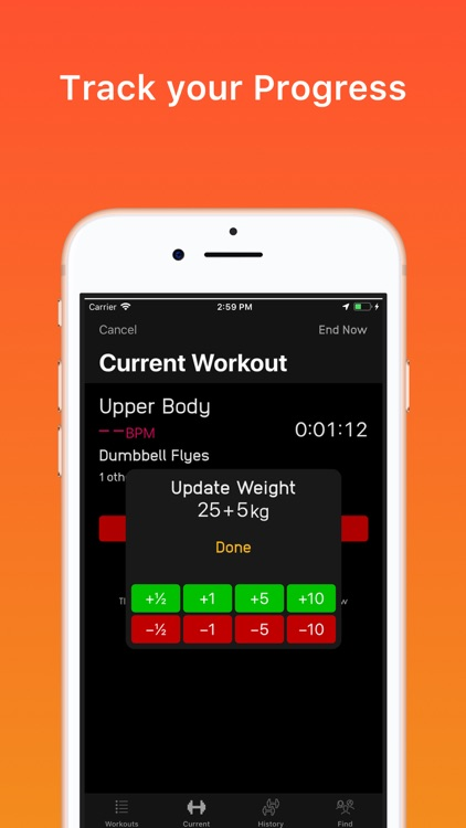 FitBuddy – Gym Fitness Tracker screenshot-4