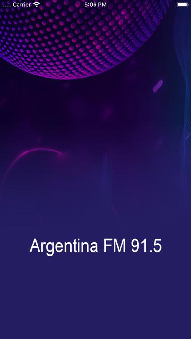 Argentina FM 91.5 screenshot 1
