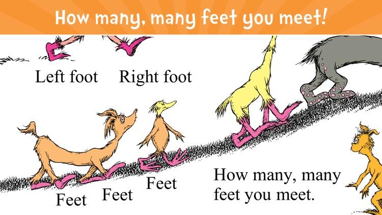 The Foot Book - Read & Learn screenshot-0