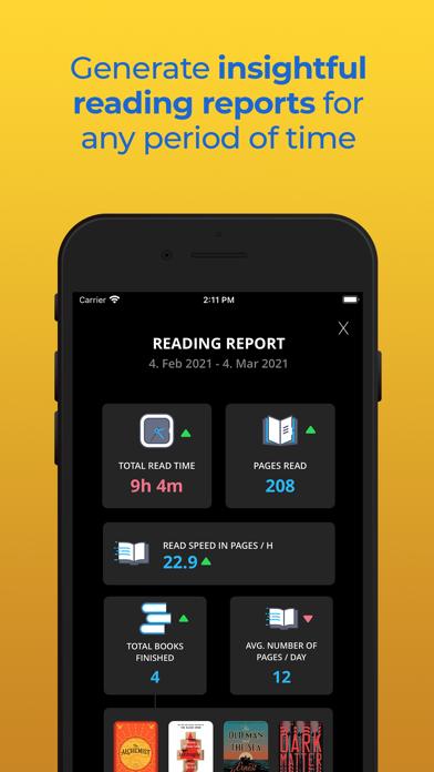 Bookly Track Books & Read More Screenshot